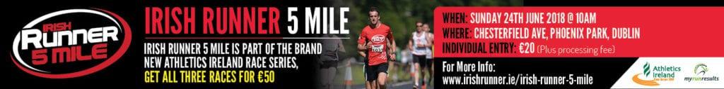 Irish Runner Banner Advert